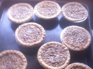 2in. Mini Pecan Pies